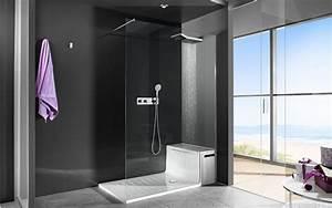 Cabine De Douche En Verre : paroi de douche design en verre photo 15 20 cette ~ Zukunftsfamilie.com Idées de Décoration