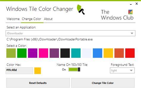 jak zmienić kolor dowolnych kafelk 243 w w windows 8 na ekranie start