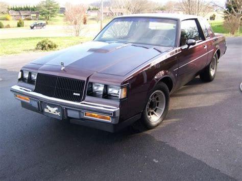 1987 Buick Regal Turbo by Buy Used 1987 Buick Regal Turbo Type T 62 270 Original
