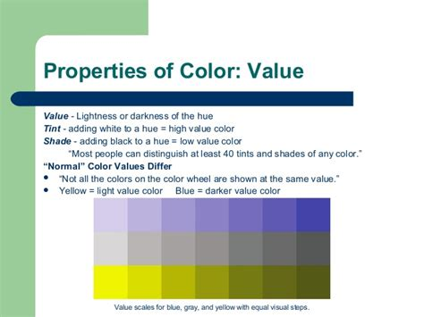 properties of color chapter 13 color