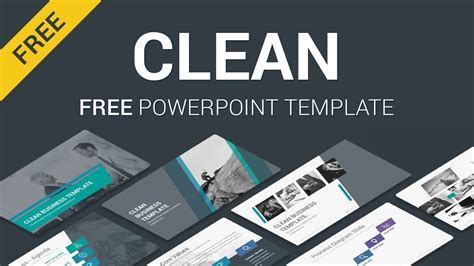 clean  powerpoint templates   youtube