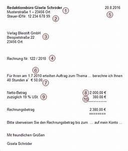 Rechnung Höher Als Angebot Vob : die freiberufler rechnung erfolg als freiberufler ~ Themetempest.com Abrechnung