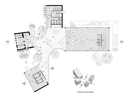 home plan architects gallery of library building in bauska winning