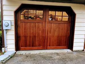 before after ii carriage house garage doors With barn doors nj