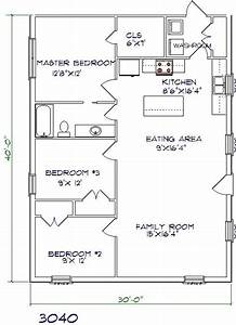 all about barndominium floor plans benefit cost price With 30x40 metal building homes plans