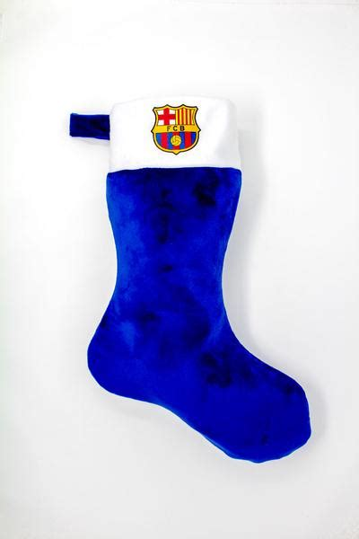 fc barcelona christmas stocking bas de noel fc barcelone