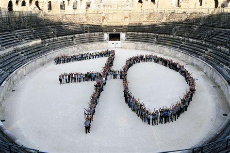 Le ã E 70 ã Ventail by 70 Ans De Solidarit 233 Populaire Secours Populaire