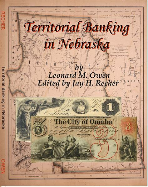 The map below shows the bank branches in nebraska. 9780996126403 Territorial Banking in Nebraska by Leonard M ...