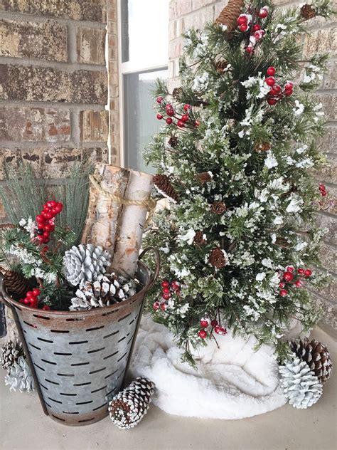 Dekoideen Weihnachten Draussen by Rustic Farmhouse Decor Outdoor Decor