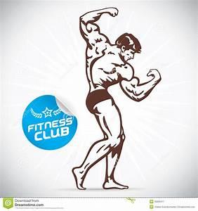 Bodybuilding Logo Design | Tattoo Design Bild