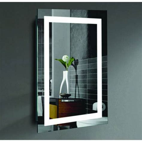lighted wall mirror malisa 24 x 36 inch led lighted wall mirror by civis usa