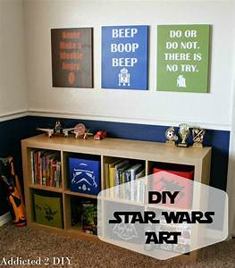 Star Wars Diy : diy star wars wall decor plus free svg files addicted 2 diy ~ Orissabook.com Haus und Dekorationen