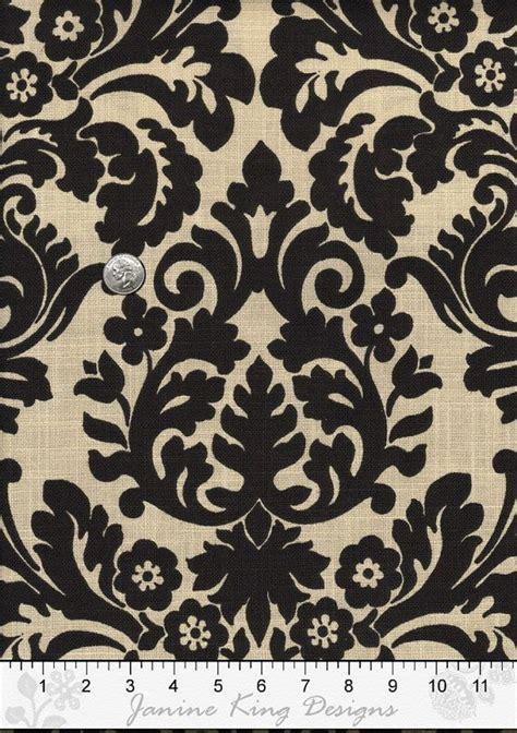 damask fabric by the yard waverly essence onyx harmonics