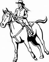 Horse Coloring Cowgirl Pferde Ausmalbilder Reiterin Princess Sheets Cowboy Printable Ausmalbild Zum Horses Cool Pferd Ausdrucken Mandala Coloringfolder Malen Ausmalen sketch template