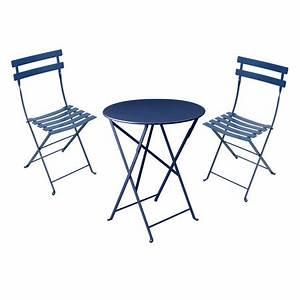 Gartentisch Mit 2 Stühlen : bistro set gartentisch rund mit 2 st hlen ~ Frokenaadalensverden.com Haus und Dekorationen