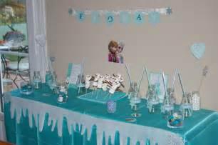 deco reine des neiges anniversaire un anniversaire reine des neiges moineauscrap