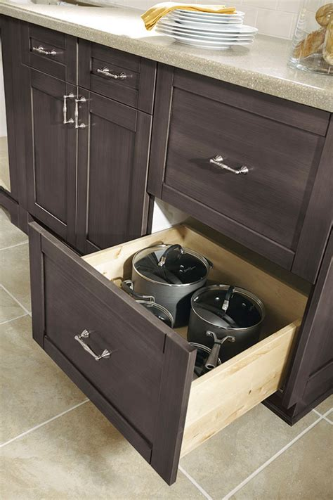 drawer base cabinet kitchen craft cabinetry
