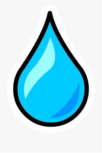 Water Droplet Clipart Cartoon Letter Netclipart