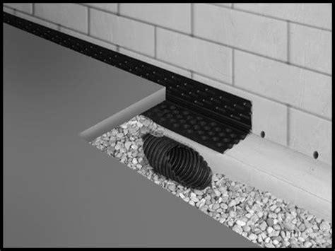 form a drain foundation drainage system foundations