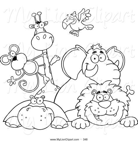 zoo animal coloring pages gianfredanet