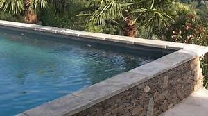 Prix Piscine Beton : prix d 39 une margelle de piscine co t moyen tarif de pose ~ Nature-et-papiers.com Idées de Décoration