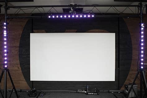 aeon series edge free projector screen edge zero projection screen elite screens