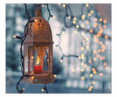 Lantern Ramadan Flickering Candle Candles Lanterns Gifs