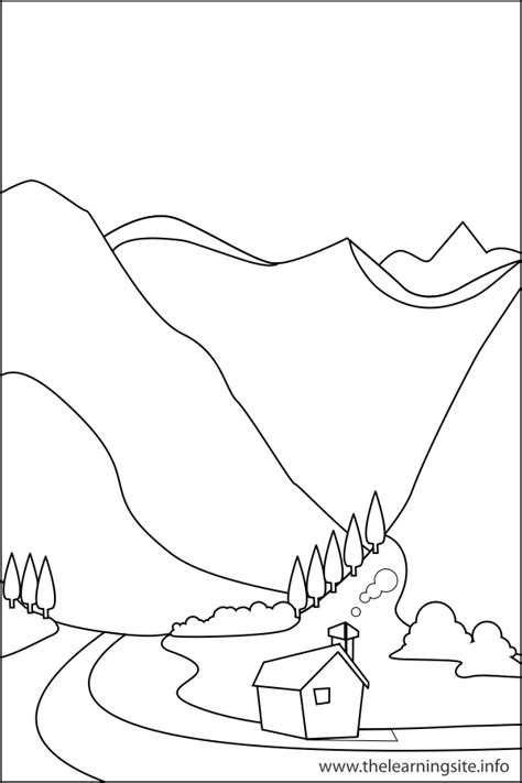 Coloring Outlines by The Learning Site