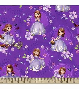 Disney Junior Sofia The First Print Fabric JOANN