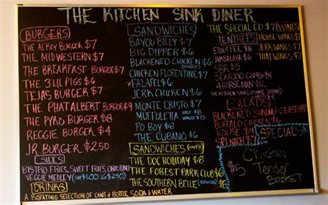 the kitchen sink st louis midtown american burgers