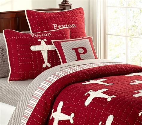 Pottery Barn Airplane Bedding by Toddler Airplane Bedding Rooms Lakehouse