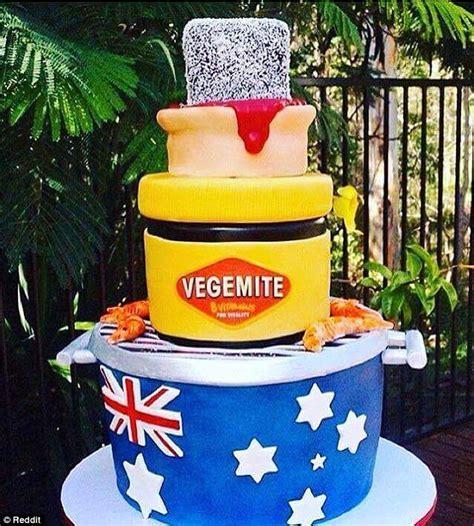Australia Day cake includes a BBQ, Vegemite, lamington and