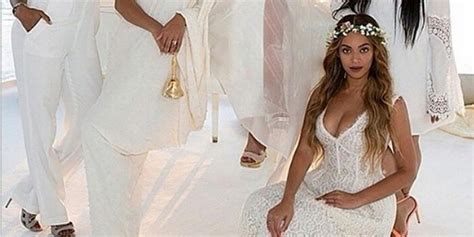 Tina Knowles' Wedding Photo Is Perfection (and Blue Ivy Is