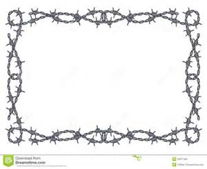 funeral bulletins barbed wire frame vector stock photography image 22977362