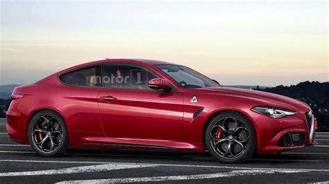 Alfa Romeo Coupe by Alfa Romeo Giulia Coupe Quadrifoglio Is Only A Speculative