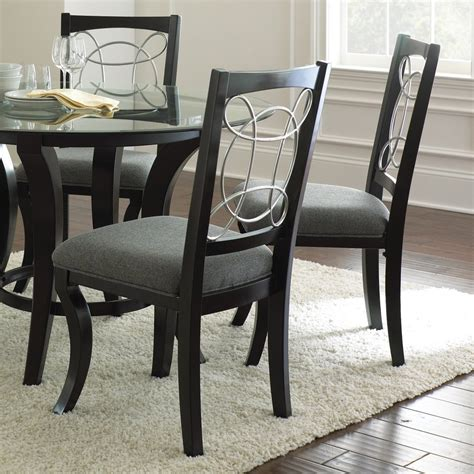 fabric side chairs shop steve silver company set of 2 cayman contemporary 3652