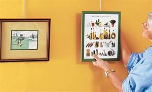 Accrocher Un Tableau Sans Trou : accrocher tableau sans clou latest crochet adhsif ~ Premium-room.com Idées de Décoration