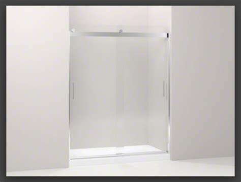 kohler levity sliding shower door new kohler levity glass shower doors 8820