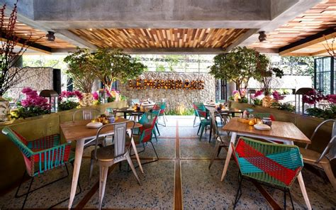 Lemongrass Restaurant Has A Modern Tropical Architecture