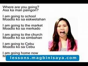 Learn Cebuano or Bisaya - Where are you going? - YouTube
