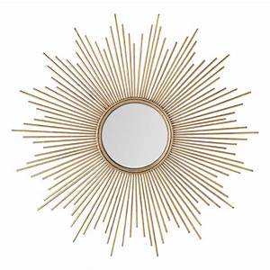 Grand Miroir Maison Du Monde : 9 miroirs soleil pour d corer vos murs avec style ~ Teatrodelosmanantiales.com Idées de Décoration