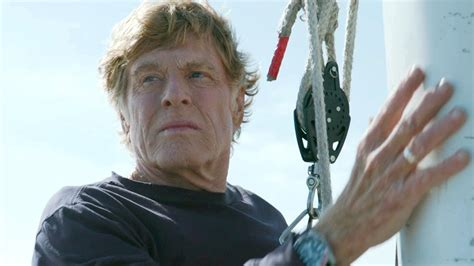 robert redford narrator character type loner go into the story