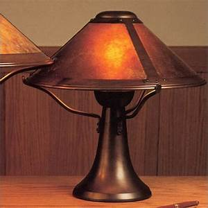 Mica, Lamp, Company, 008, Small, Trumpet, Table, Lamp