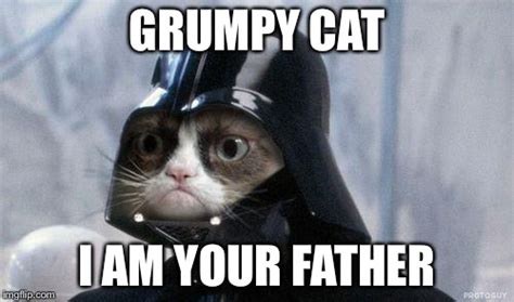 Make A Grumpy Cat Meme - grumpy cat star wars meme imgflip