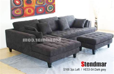 Stendmar Sectional Sofa by Simmons Upholstery 5066 03 Soho Cardinal Bonded Leather