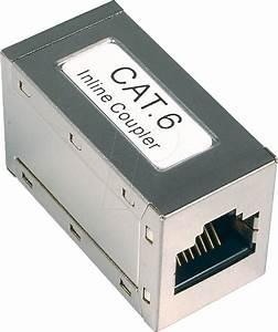 Cat 6 Stecker : rj45 cat6 verbin modular kupplung rj45 buchse buchse cat 6 bei reichelt elektronik ~ Frokenaadalensverden.com Haus und Dekorationen