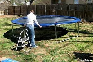 Prix D Un Trampoline : installation d un trampoline enfant trampoline enfant ~ Dailycaller-alerts.com Idées de Décoration