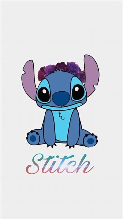 Disney Wallpapers Iphone Stitch Cartoon