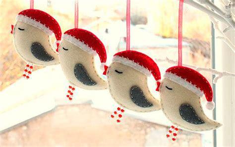 adornos en fieltro y crochet para un 225 rbol de navidad diy