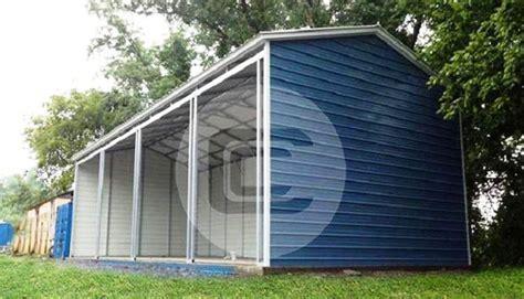 Side Entry Metal Garages - Car Garages with Side Entries